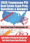 2020 Tennessee PSI Real Estate Exam Prep Questions and Answers: Study Guide to Passing the Salesperson Real Estate License Exam Effortlessly Cover Image