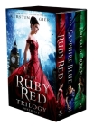 The Ruby Red Trilogy Boxed Set: Ruby Red, Sapphire Blue, Emerald Green Cover Image