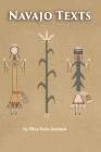 Navajo Texts Cover Image