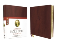 Amplified Holy Bible, XL Edition, Leathersoft, Burgundy Cover Image
