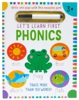 Let's Learn: First Phonics: (Early Reading Skills, Letter Writing Workbook, Pen Control, Write and Wipe) Cover Image