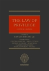 The Law of Privilege Cover Image