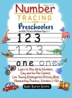 Number Tracing for Preschoolers and Kids, Practice Workbook Ages 3-5: Learn to How Write Numbers, Easy and fun Pen Control, Line Tracing Kindergarten Cover Image