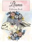 Llama Coloring Book: Fun Coloring Amazing Llama Coloring For Relaxation and Llama Lover Cover Image