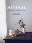 Minimal: For Simple and Sustainable Living Cover Image