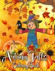 autumn falls coloring book: hello autumn adult coloring books New Collection autumn coloring books for adults Relaxing Country Landscapes and Cute Cover Image