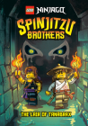 Spinjitzu Brothers #2: The Lair of Tanabrax (LEGO Ninjago) (A Stepping Stone Book(TM)) Cover Image