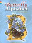 Butterfly Alphabet Coloring Book (Dover Coloring Books) Cover Image