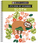 Brain Games - Sticker by Number: Sloth Cover Image