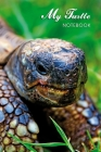 My Turtle Notebook: Greek tortoise. Format A5, 120 pages, fine light grey lined. Notebook, journal, diary, gift idea for turtle fans and a Cover Image