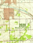 2020 Weekly Planner: Palos Park, Illinois (1953): Vintage Topo Map Cover Cover Image