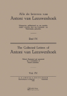 Collected Letters Van Leeuwenhoek, Volume 4 Cover Image