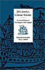 John Josselyn, Colonial Traveler: A Critical Edition of Two Voyages to New-England. Cover Image