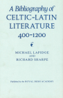 A Bibliography of Celtic-Latin Literature 400-1200 Cover Image