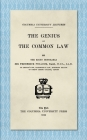 The Genius of the Common Law (1912) (NFL Today (Creative) #11) Cover Image