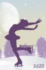 Eiskunstlauf Planer 2020 Monatlicher & Wöchentlicher Notizbuch Kalender: 6x9 Zoll (ähnlich A5 Format) Organizer von DEZ 19 bis JAN 21 - Jahresübersich Cover Image