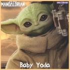 Baby Yoda 2021 Calendar: Official The Child Wall Calendar 2021 Cover Image