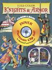 Full-Color Knights & Armour [With CDROM] (Dover Electronic Clip Art) Cover Image