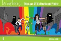 Bad Machinery Vol. 6: The Case of the Unwelcome Visitor, Pocket Edition Cover Image