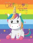 Awesome Unicorn Coloring Book For Girls Ages 4-9 Cover Image