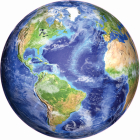 Planet Earth 1000 Piece Round Jigsaw Puzzle Cover Image