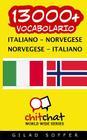 13000+ Italiano - Norvegese Norvegese - Italiano Vocabolario Cover Image