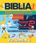 Biblia Infográfica 2 (Bible Infographics for Kids 2) Cover Image
