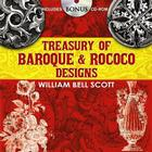 Treasury of Baroque and Rococo Designs (Dover Pictorial Archives) Cover Image