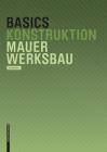 Basics Mauerwerksbau Cover Image