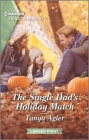 The Single Dad's Holiday Match: A Clean Romance Cover Image