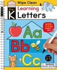 Learning Letters (Pre-K Wipe Clean Workbook): Preschool Wipe Clean Activity Workbook, Ages 3-5, Letter Tracing, Uppercase and Lowercase, First Words, Learning to Write, and Handwriting Practice (The Reading House) Cover Image