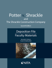 Potter V. Shrackle and the Shrackle Construction Company: Deposition File, Faculty Materials Cover Image