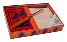 Harry Potter: Weasleys' Wizard Wheezes Desktop Stationery Set (With Pen) Cover Image