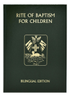 Rite of Baptism for Children (Bilingual Edition) (Roman Ritual) Cover Image