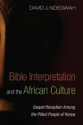 Bible Interpretation and the African Culture Cover Image
