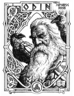 Viking coloring book: Nordic Warriors, Berserkers, Valhalla Runes, Spears and Shields - (Adult Coloring And draw Pages) Cover Image