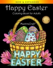 Happy Easter: Coloring Book for Adults Cover Image