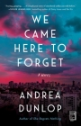 We Came Here to Forget: A Novel Cover Image
