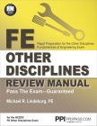 PPI FE Other Disciplines Review Manual – A Comprehensive Review Guide to Pass the NCEES FE Exam Cover Image