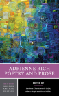 Adrienne Rich: Poetry and Prose (Norton Critical Editions) Cover Image
