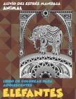 Libro de colorear para adolescentes - Alivio del estrés Mandala - Animal - Elefantes Cover Image