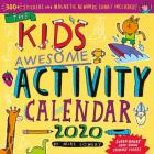 Kid's Awesome Activity Wall Calendar 2020 Cover Image