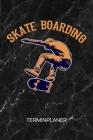 Terminplaner: Skateboarderin Kalender Skateboard Stunts Terminkalender - Heelflip Wochenplaner Skateboardfahrer Wochenplanung Rollbr Cover Image