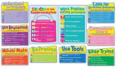 Common Core Math Strategies Bulletin Board Set Cover Image