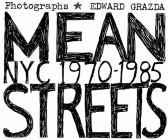 Mean Streets: NYC 1970-1985 Cover Image