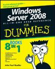 Windows Server 2008 All-In-One Desk Reference for Dummies Cover Image