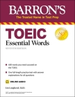 TOEIC Essential Words (with online audio) (Barron's Test Prep) Cover Image
