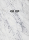 2021-2022 Monthly Planner: Large Two Year Planner with Marble Cover (Volume 2 Hardcover) Cover Image