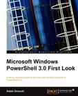 Microsoft Windows Powershell 3.0 First Look Cover Image