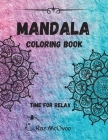 Mandala coloring book: - a wonderful way for stress relief Cover Image